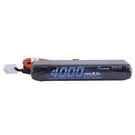 Gens Ace 4000mAh 7.4V 45C 2S1P HardCase Lipo Battery Pack 8# with Deans
