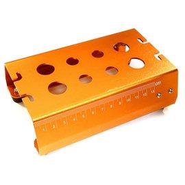 Integy C27182ORANGE  Orange Universal Car Stand Workstation For 1/10 Size
