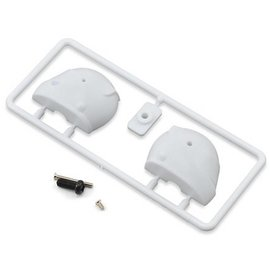 Bittydesign BDYF1-HLM-C White Type C F1 Helmet
