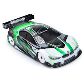 Bittydesign BDYTC-M410ULT  M410 ULT 1/10 Touring Car Body Clear Ultra Light Weight