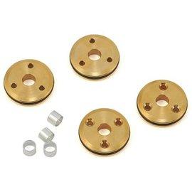 Flash Point FPR2129 Flash Point 12mm Brass 1/10 Shock Piston (4) (3x1.3mm)