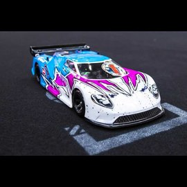 Protoform PRM1549-30 Ford GT Clear Body for 200mm Pan Car