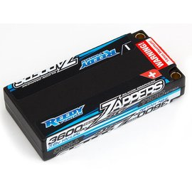 Team Associated ASC27324 Reedy Zappers SG 3600mAh 110C 7.6V Lipo Battery, Low profile Shorty