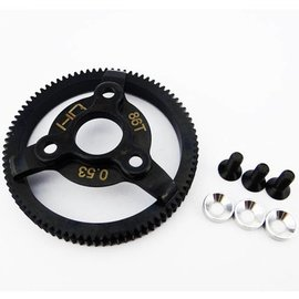 HOT RACING HRASTE886  48P 67T Steel Spur Gear Rustler Bandit Slash Stampede