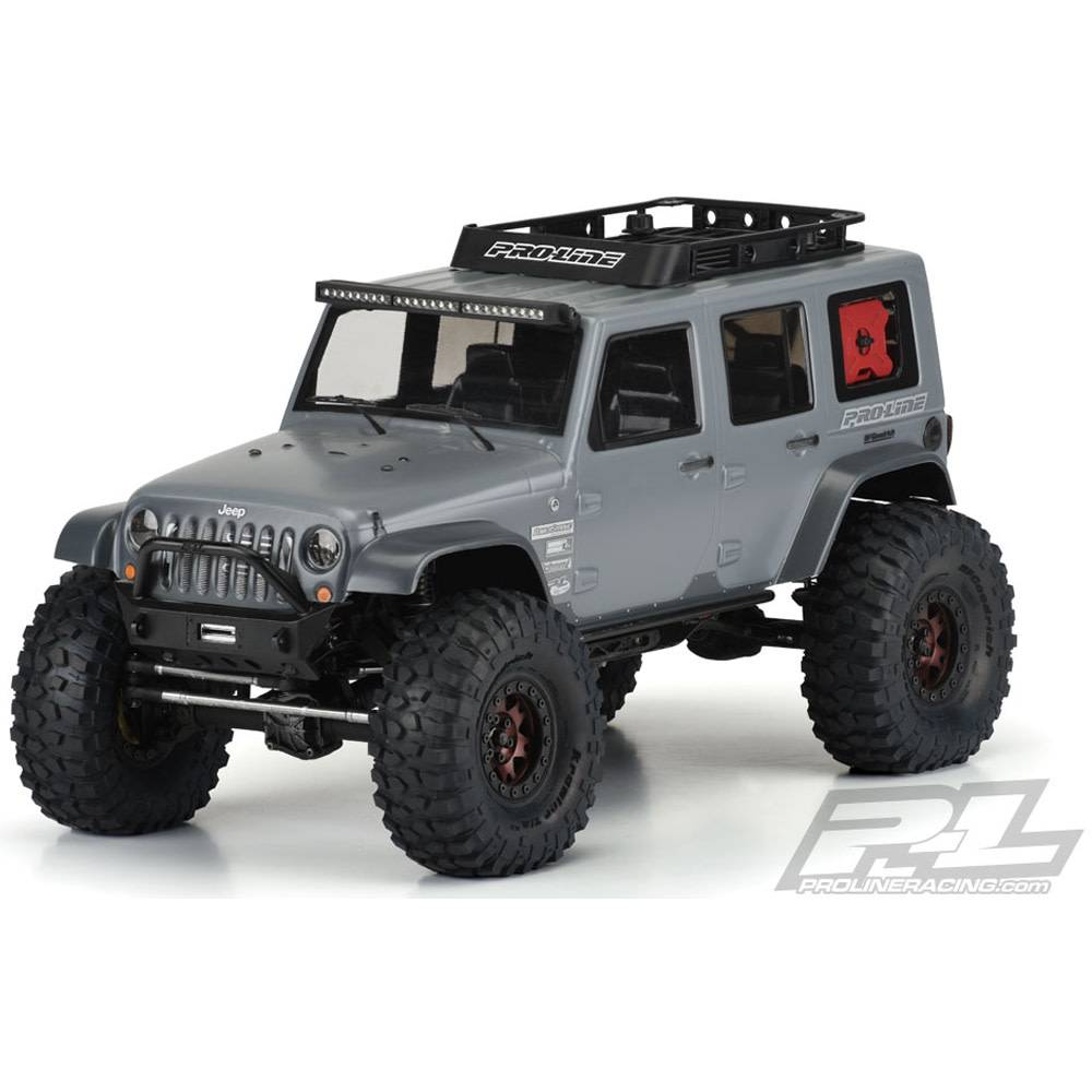 pro3336 00 jeep wrangler unlimited rubicon body 12 3 michael 39 s rc hobbies. Black Bedroom Furniture Sets. Home Design Ideas