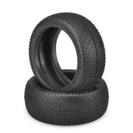 J Concepts JCO3173-01  Blue Soft Teazers 1/8 Buggy Tires (2)