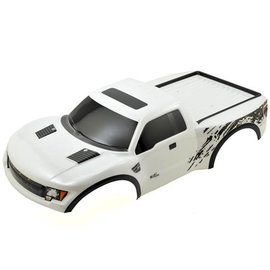 Traxxas TRA5815X Body, Ford Raptor, white