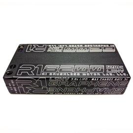 R1wurks R182001S120C  R1 1S 3.8v 8200mAh 120C LCG Lipo Shorty w/ 5mm Bullets
