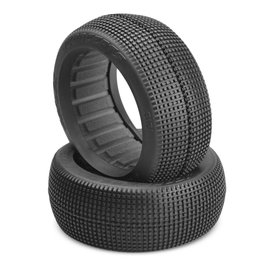 J Concepts JCO3121-02  Green Super Soft Reflex 1/8 Buggy Tires (2)