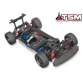 Traxxas TRA83076-4 4-Tec 2.0 VXL: 1/10 Scale AWD Chassis