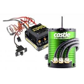 Castle Creations CSE010-0164-01 Sidewinder 4 ESC 4600kv Sensored Motor Combo