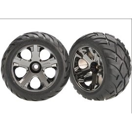 """Traxxas TRA3777A  Anaconda Tires on All-Star Front Wheels 2.8"""" (2)"""