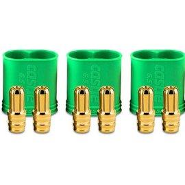 Castle Creations CSE011-0068-00  6.5 mm Polarized Connectors Male Multi-Pack