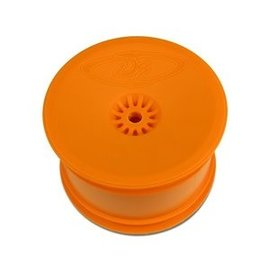 DE Racing DER-SB-KRO Speedline Buggy Wheels For Kyosho RB6 Rear Orange