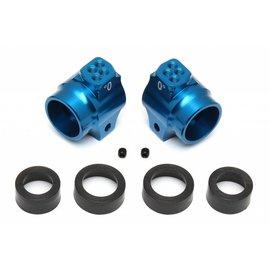 Team Associated ASC91548  Blue FT Aluminum Rear Hubs