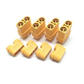 Maclan Racing HADMCL4114 XT90 Connectors (4 Female)