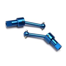 Traxxas TRA7550R Traxxas Blue LaTrax Aluminum Driveshaft Assembly (2)