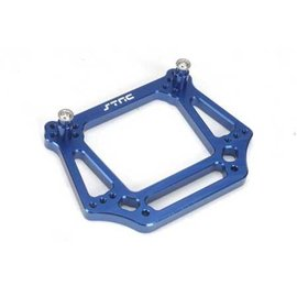 STRC ST3639B Blue 6mm Heavy Duty Front Shock Tower Slash, Rustler, Stampede & Bandit