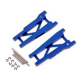 STRC ST3655B Blue Aluminum Rear A-Arm Set Slash, Rustler, Stampede