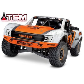 Traxxas TRA85076-4 FOX Unlimited Desert Racer 4WD 6S Brushless Electric Truck w/TQi & TSM