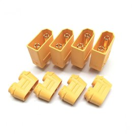 Maclan Racing HADMCL4113  XT90 Males Connectors (4 Male)  MCL4113