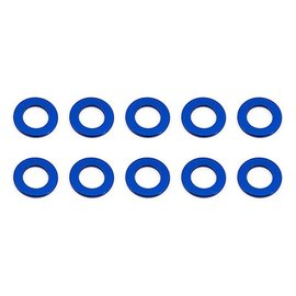 Team Associated ASC31381 Ballstud Washers, 5.5x0.5 mm, blue alum  TC7  B6/D B6.1/D F6