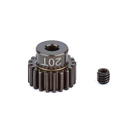 Team Associated ASC1338 FT Aluminum Pinion Gear, 20T 48P, 1/8 shaft