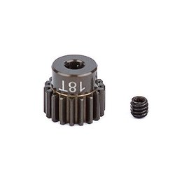 Team Associated ASC1336 FT Aluminum Pinion Gear, 18T 48P, 1/8 shaft