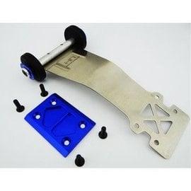 HOT RACING HRASTE13306 Stainless Steel Wheelie Bar, for Electric Stampede and Rustler