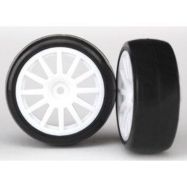 Traxxas TRA7572 Traxxas Tires & Wheels, Assembled, Glued (12-Spoke)