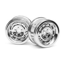 HPI HPI33473 Vintage Wheel CC Type 31mm Chrome(6mm Offset/2pcs)