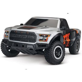Traxxas TRA58094-1-FOX Slash 1/10 VXL 2WD Brushless S.C Race Truck, w/ TSM and OBA