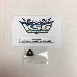 KSG KSG-1930A  SCX-2 One Piece V-Plate, T-Plate Socket