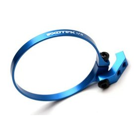 Exotek Racing EXO1756BLU  Blue 1/8 EXO Fan Mount-Clamp on Set