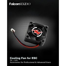 Hobbywing HWI86080052  MP2510SH-5V Black A Cooling Fan, for EzRun Waterproof ESC