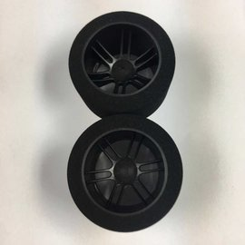 BSR BSRF4532D 45mm Wide Foam Tire 32 Shore Drag Carbon Wheels (2)