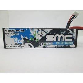 SMC SMC4585-4S1PXT90  True Spec Premium 14.8V 4500mAh 90C Lipo w/XT90 Plug