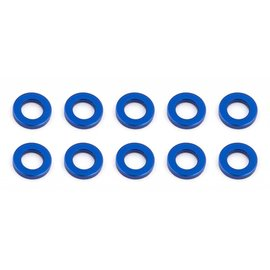 Team Associated ASC31382  Ballstud Washers(10) 5.5 x 1.0mm Blue Alum  TC7 F6  B6/D B6.1/D R5