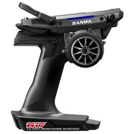 Sanwa SNW101A32461A  M17 FH5 4-Channel 2.4GHz Radio System w/ RX-491 Receiver