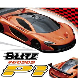 BLITZ BLZ60909  BLITZ P1 1/12th On-Road Sport Car Clear Body (0.8mm)