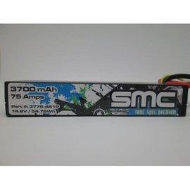 SMC SMC3775-4S1PD True Spec Premium 14.8V 3700mAh 90C LIpo w/Deans Plug