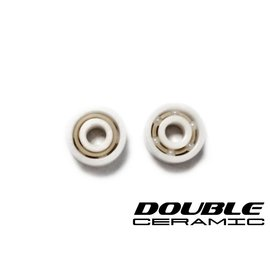 R1wurks R1-020020 Double Ceramic Full Ceramic Bearings (2pc)