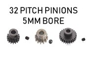 32P Pitch Pinion / 5mm Bore