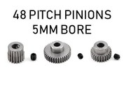 48P Pitch Pinion / 5mm Bore