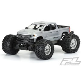 Proline Racing PRO3506-00  2019 Chevy Silverado Z71 Trail Boss Clear Body, for Pro-MT and Stampede 4X4