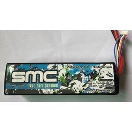 SMC SMC72149-6S1PT  True Spec Premium 22.2V 7200mAh 90C with G10 plates Lipo w/ Traxxas Plug