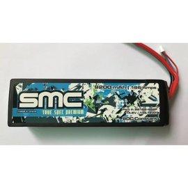 SMC SMC92186-4S2PT  True Spec Premium 14.8V 9200mAh 90C G10 plates Lipo Traxxas Plug