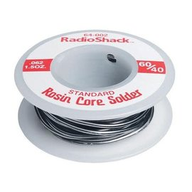"Michaels RC Hobbies Products 60/40 Rosin-Core Solder 0.062"" 1.5oz"
