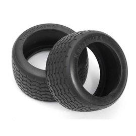 HPI HPI4797  Vintage Racing Tire, D-Compound, 31mm (2)