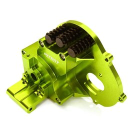 Integy C28196GREEN Alloy Gearbox Housing for Traxxas 1/10 Stampede 2WD, Rustler, Bandit & Bigfoot